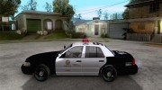Ford Crown Victoria San Andreas State Patrol для GTA San Andreas миниатюра 2