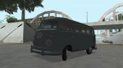 Volkswagen Transporter T1 Deluxe Bus for GTA San Andreas miniature 1