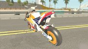 Honda RC213V 2019 Marc Marquez for GTA San Andreas miniature 4