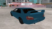 Subaru Impreza 2.0 WRX STI for GTA Vice City miniature 3