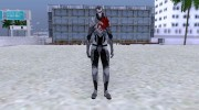 Dragon armor-female for GTA San Andreas miniature 5