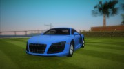 Audi R8 5.2 FSI for GTA Vice City miniature 1