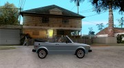 Volkswagen Rabbit Convertible для GTA San Andreas миниатюра 5
