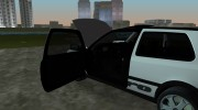 Volkswagen Golf 3 ABT VR6 Turbo Syncro for GTA Vice City miniature 6