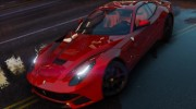 Ferrari F12 Berlinetta 2013 for GTA 5 miniature 3