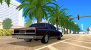 Chevrolet Caprice Classic 87 for GTA San Andreas miniature 4