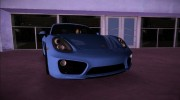 Porsche Cayman S 2014 for GTA Vice City miniature 2