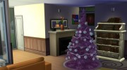 4 Recoloured Holiday Christmas Tree Set for Sims 4 miniature 2