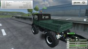 Unimog U 84 406 Series и Trailer v 1.1 Forest for Farming Simulator 2013 miniature 4