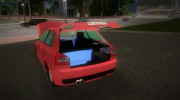 Audi S3 for GTA Vice City miniature 5