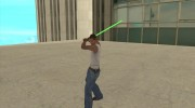 Световой меч из STAR WARS for GTA San Andreas miniature 5