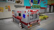 New Texture Ambulance 1962 for GTA 3 miniature 5
