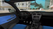 Subaru Impreza 2.0 WRX STI for GTA Vice City miniature 8