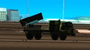 Missile Launcher Truck for GTA San Andreas miniature 5