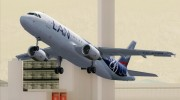 Airbus A320-200 LAN Airlines - 80 Years Anniversary (CC-CQN) for GTA San Andreas miniature 24