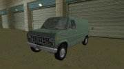 Ford E-150 (Short Version) 1983 Commercial Van for GTA Vice City miniature 1