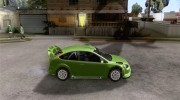 Ford Focus RS WRC 08 для GTA San Andreas миниатюра 5