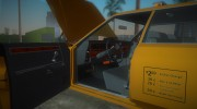 Ford Custom 500 (4-door) 1975 Taxi for GTA Vice City miniature 9