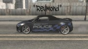 Audi R8 High Speed Police для GTA San Andreas миниатюра 3