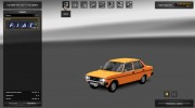 FIAT 131 for Euro Truck Simulator 2 miniature 2
