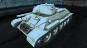T-34 22 for World Of Tanks miniature 1