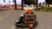 Sweeper Pizza Boy для GTA San Andreas миниатюра 2