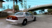 Ford Crown Victoria North Dakota Police для GTA San Andreas миниатюра 4