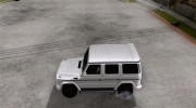 Mercedes-Benz G55 AMG (W463) 2008 for GTA San Andreas miniature 2
