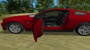 Ford Shelby GT 500 2010 для GTA Vice City миниатюра 10