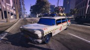 "Cadillac Miller-Meteor 1959 ""Ghostbusters ECTO-1"" for GTA 5 miniature 1"