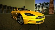 Aston Martin DBS Volante for GTA Vice City miniature 1