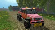 Mercedes G65 AMG 6x6 v.1 for Farming Simulator 2015 miniature 4