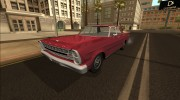 Ford Galaxie 500 1967 Beta для GTA San Andreas миниатюра 2