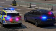 Police 2019 Ford Focus Wagon Unmarked for GTA 5 miniature 3