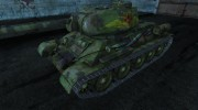 Т-34-85 LeoN47AK for World Of Tanks miniature 1