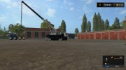 КамАЗ-43118-46 Автокран версия 1.0.2.4 for Farming Simulator 2017 miniature 9