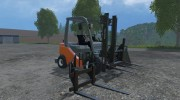 Toyota Forklift for Farming Simulator 2015 miniature 6