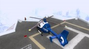 NYPD Eurocopter By SgtMartin_Riggs for GTA San Andreas miniature 3
