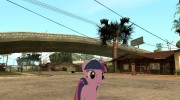 Twilight Sparkle para GTA San Andreas miniatura 1