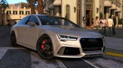 Audi RS7 Sportback for GTA 5 miniature 1