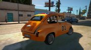 Abarth Zastava 850 General Lee for GTA San Andreas miniature 5