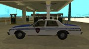 Chevrolet Caprice 1987 New York Transit Police for GTA San Andreas miniature 5