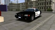 2005 Ford Crown Victoria LAPD (Stanier II Style) for GTA San Andreas miniature 1