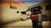 Flan's Modern Weapons Pack для Flans Mod for Minecraft miniature 1