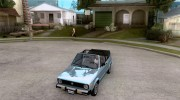 Volkswagen Rabbit Convertible для GTA San Andreas миниатюра 1