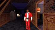 Franklin Santa Claus clothing for GTA San Andreas miniature 3