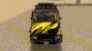 ЛуАЗ 969М Off-Road Лесной камуфляж for GTA 3 miniature 7