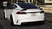 Tesla Model S Prior Design for GTA 5 miniature 4
