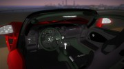 Hennessey Venom GT Spyder for GTA Vice City miniature 5
