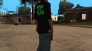 Grove Street Shirt for GTA San Andreas miniature 5